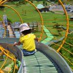 [鳥取県北栄町]レークサイド大栄は子どもが思いっきり遊べる遊具がある公園。