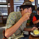 [倉吉]赤瓦五号館 久楽(くら)砂糖の代わりにあんこ?自分でコーヒー豆が挽ける?