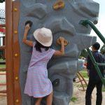 [伯耆町・公園]パワーアップしていた。新しい遊具ができている伯耆町総合スポーツ公園。無料で何時間でも遊べる。