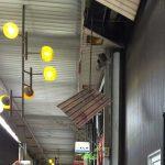 [速報!米子地震]米子市の本通り商店街アーケードの屋根の落下。僕の周辺では通常通りの生活ができています。