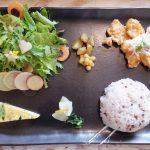 [米子両三柳]カフェノア。セガワールド米子の横にある無農薬野菜のカフェ。