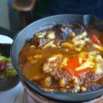 【3町三色たたらんち】【日野町】レストランもり ドリア風!鉄焼カレーハンバーグ 間違いない美味しさ
