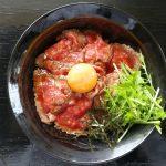 [米子]キャメルダイナー米子店。絶品ローストビーフ丼と名物どて煮黒カリーを食べた。