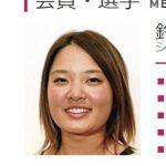 2017年ゴルフ賞金女王は倉吉北高校出身の鈴木愛さん
