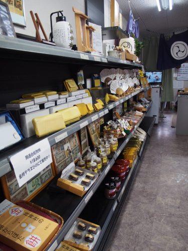 金持神社の札所(売店)の写真