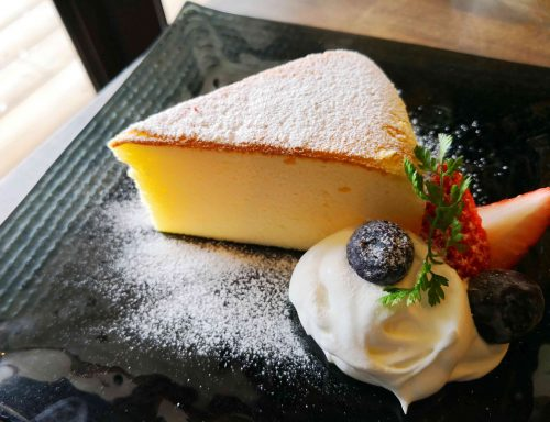 大山うさぎやチーズケーキ