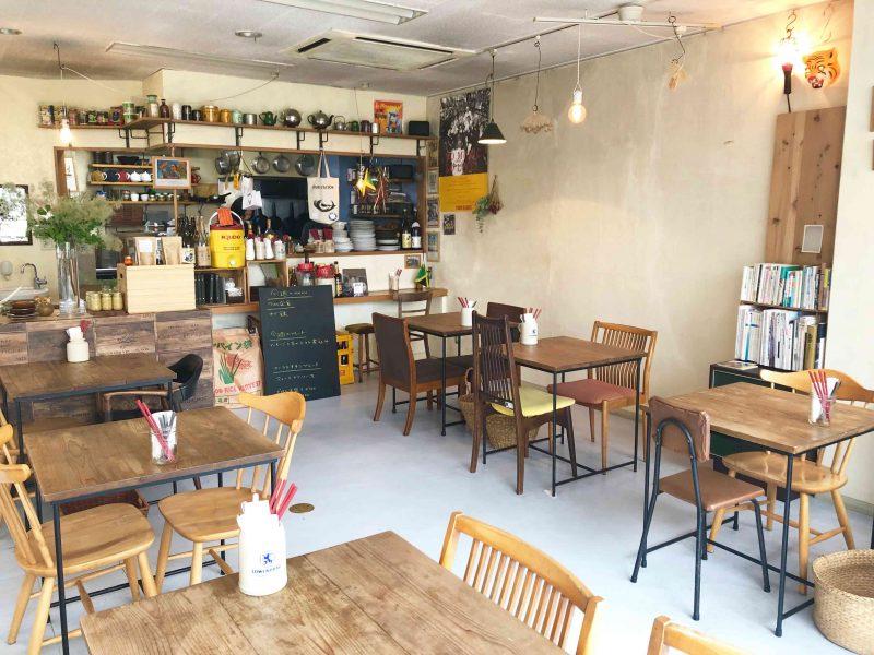 TAO-CAFE(タオカフェ)店内