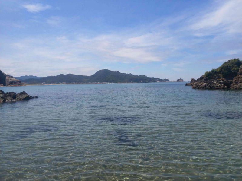 浦富海岸眺め海
