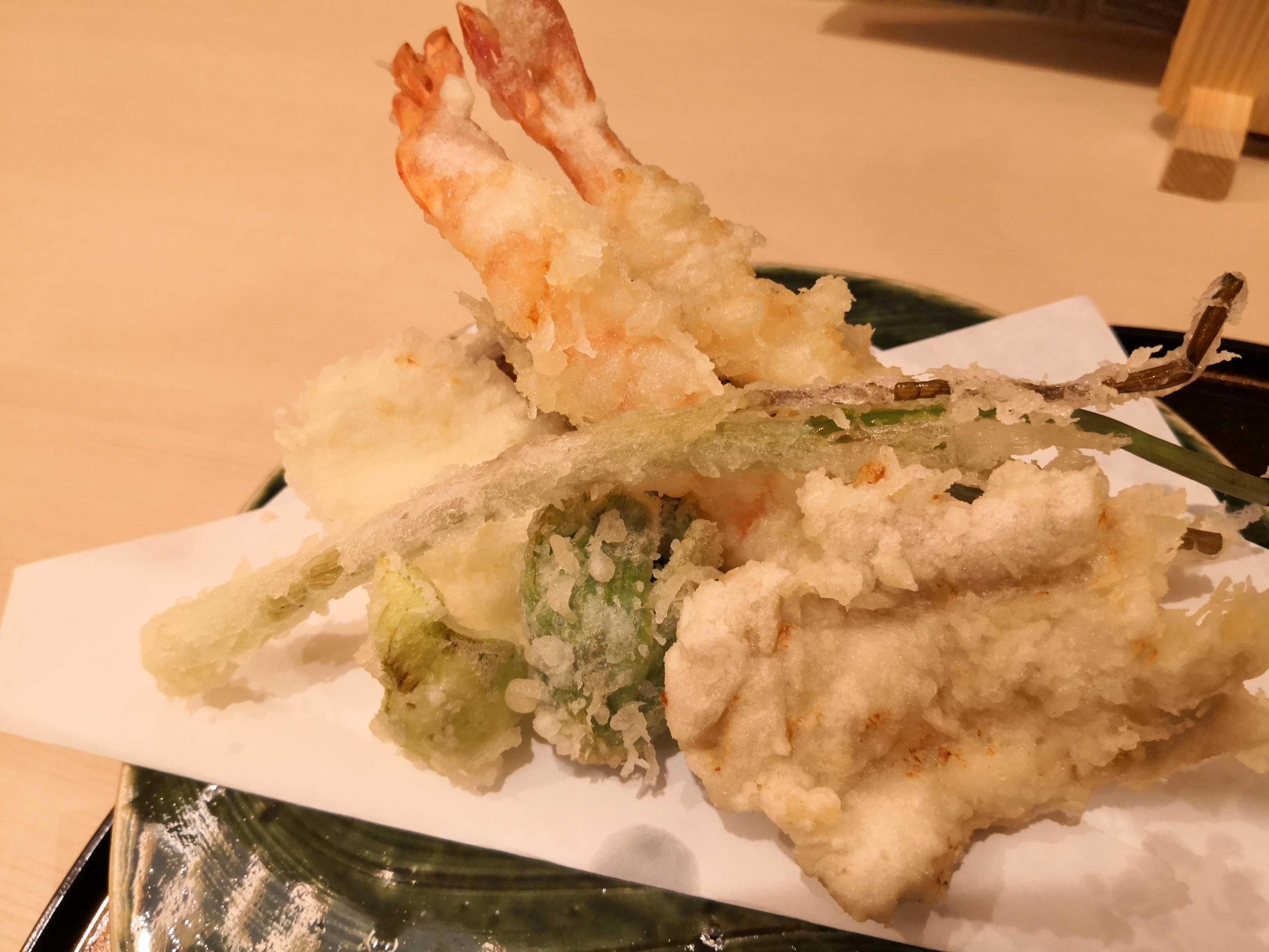 季節の天ぷら百彩